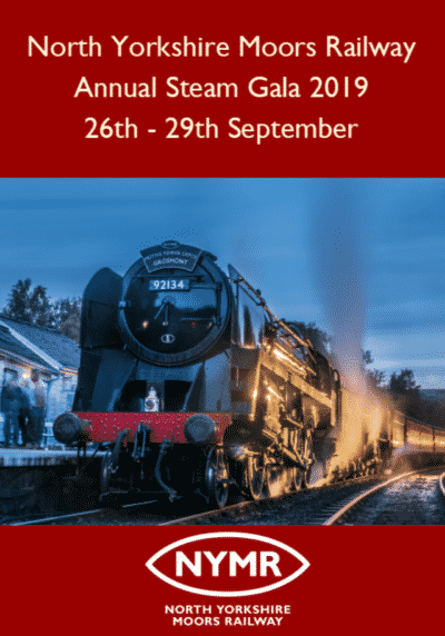 North Yorkshire Moors Railway Annual Steam Gala 2019 DVD Blu-ray
