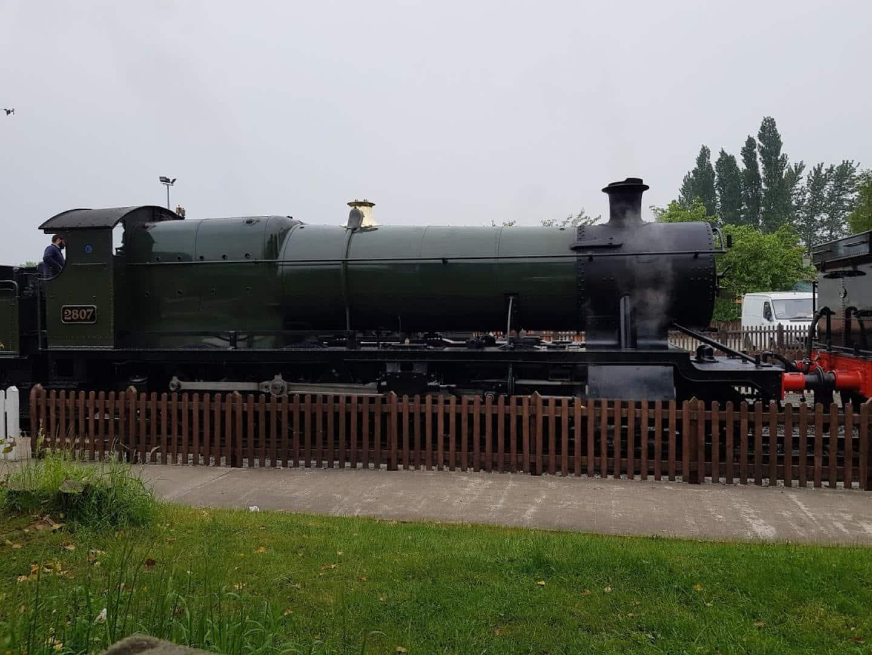 2807 at Toddington Station // Credit Jamie Duggan, RailAdvent