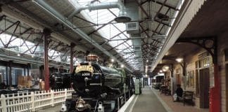 "STEAM Museum Virtual Tour - 6000 ""King George V"" at STEAM Museum // Credit STEAM Museum Virtual Tour"