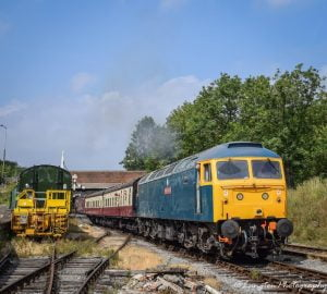 Class 47 at the Midland Railway - Butterley