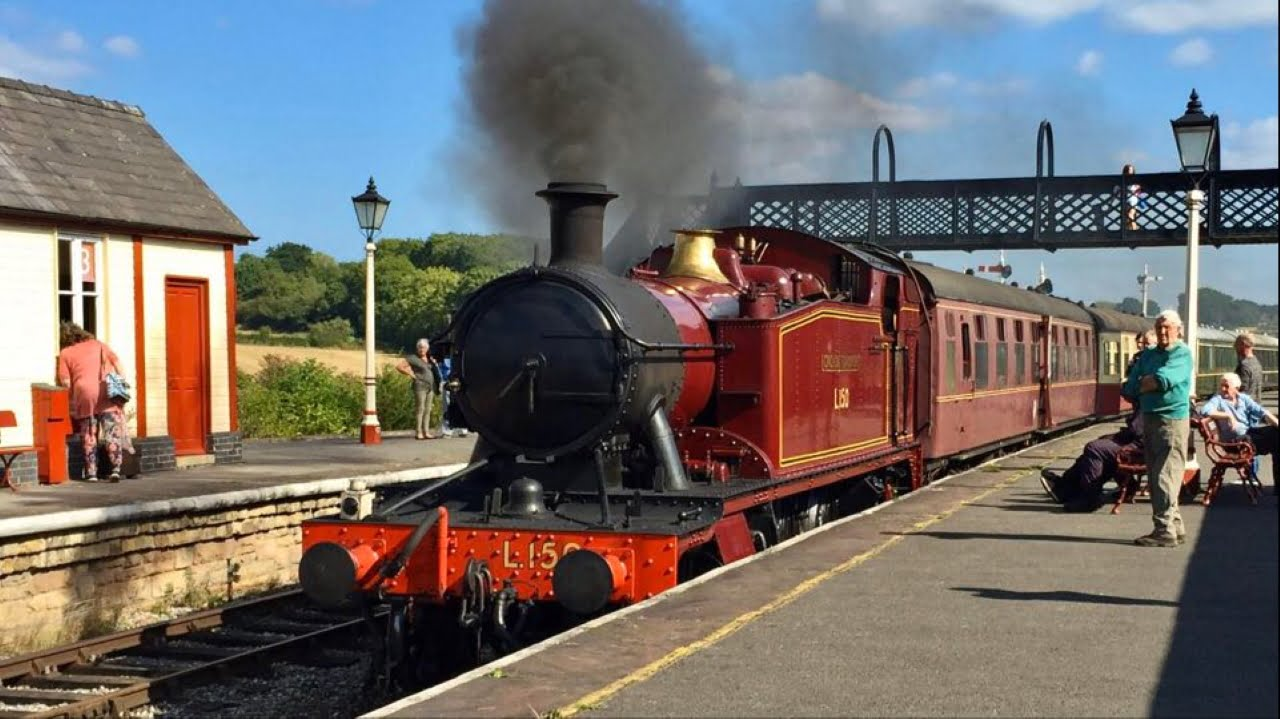 Steam train at the Midland Railway - Butterley