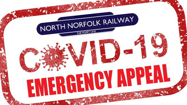 North Norfolk Railway COVID-19 Appeal // Credit NNR