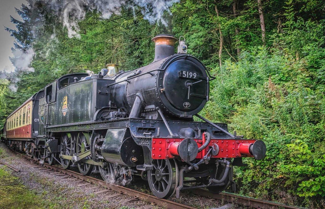 5199 on the Llangollen Railway