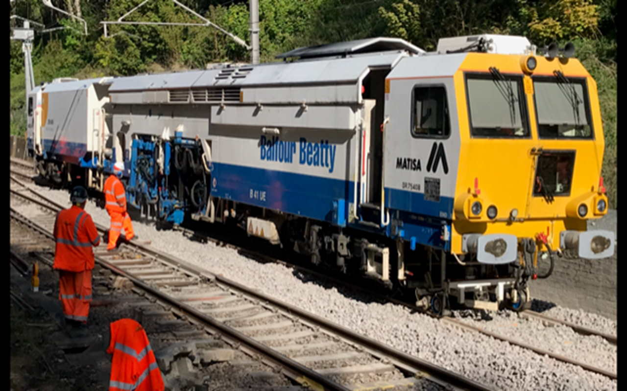 Billericay track renewals