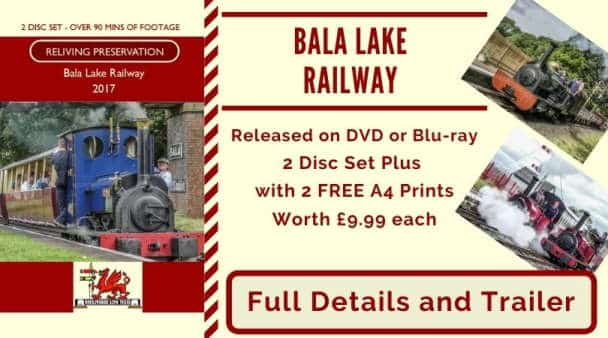 Bala Lake Railway DVD and Photographs