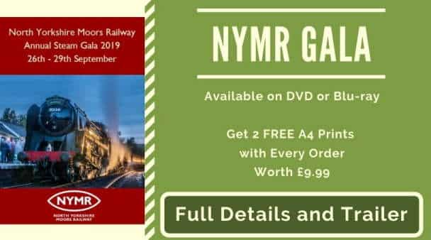 NYMR North Yorkshire Moors Railway DVD