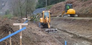 Extension work at the Corris Railway