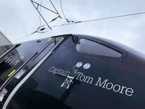 Captain Tom Moore Train Naming