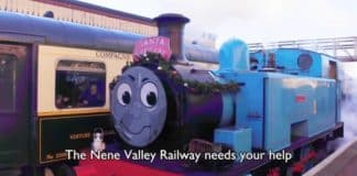 Nene Valley Railway Appeal - Need Your Help // Credit Camera Drone UK