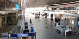 Network Rail thanks commuters as figures show over 90% decrease in King's Cross station users during Covid-19 crisis