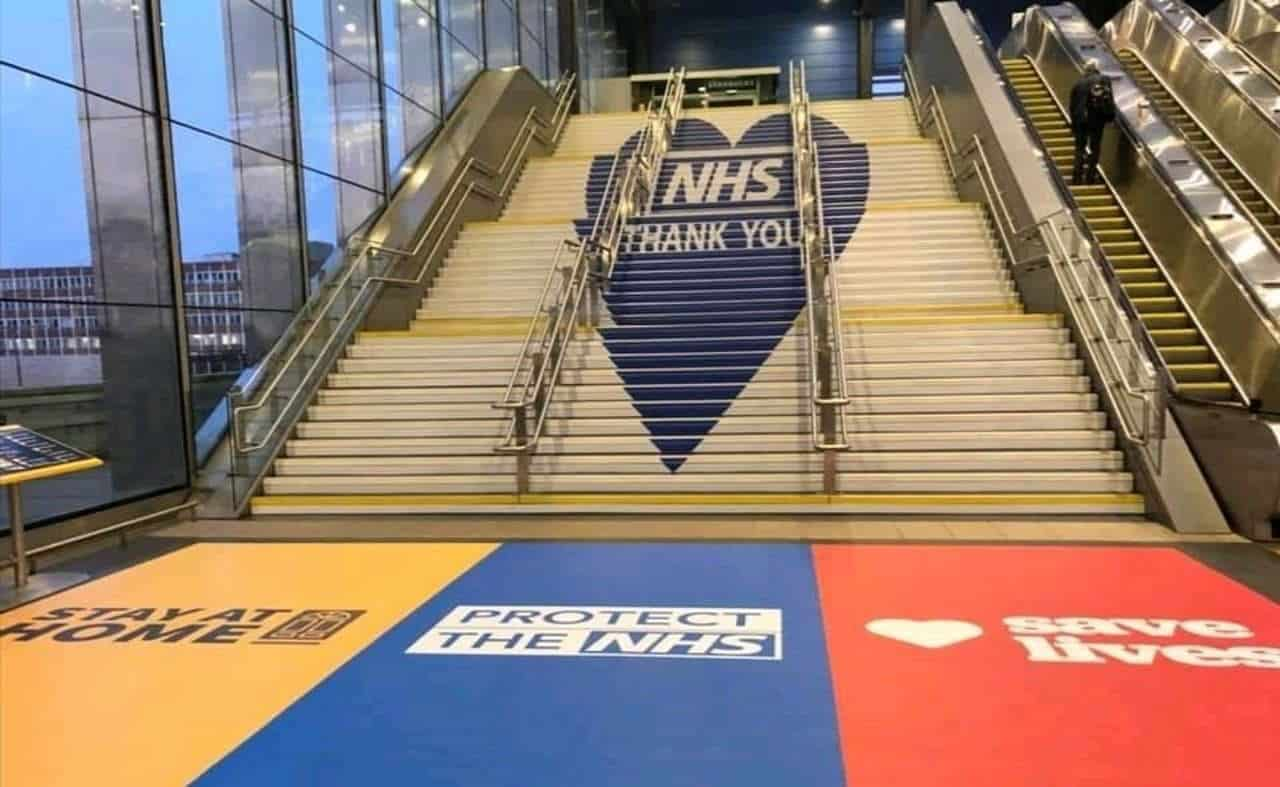 Reading station NHS