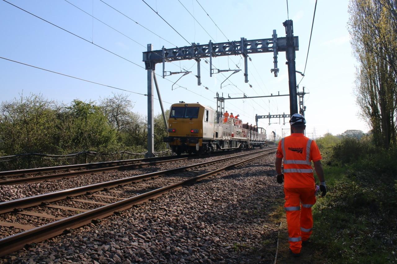 Southend eletric wire work rail upgrade