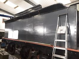 32424 Beachy Head Tender // Credit Bluebell Railway Atlantic Group