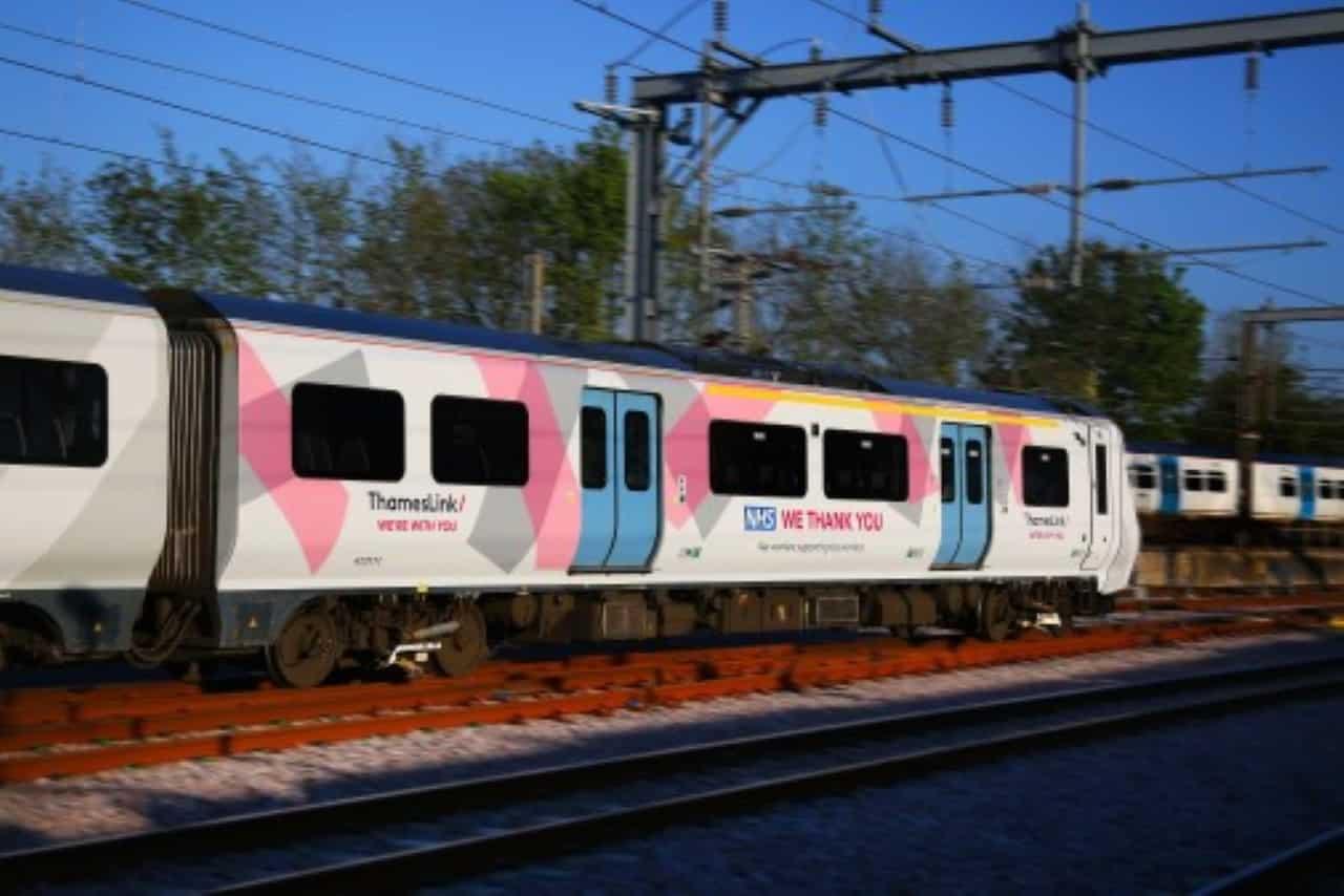 Thameslink NHS train