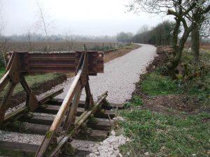 Track Extension // Credit Mid-Suffolk Light Railway
