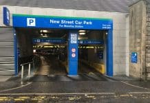 Edinburgh Waverley free car parking