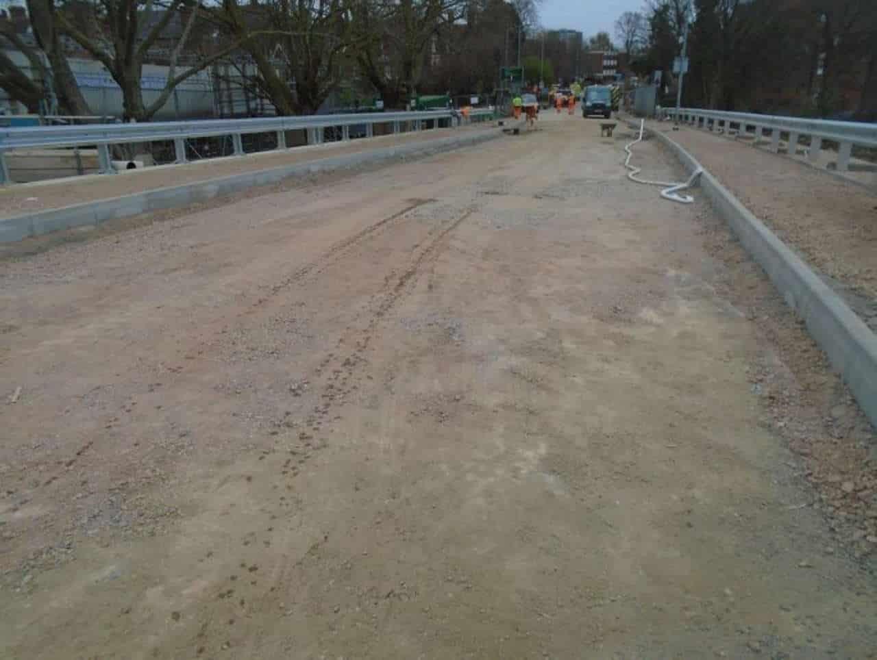 bedford road closure