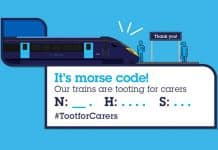 morse code nhs Toot for Carers