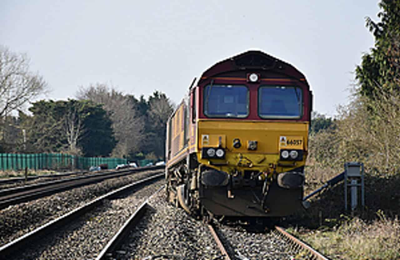 passenger train derailed