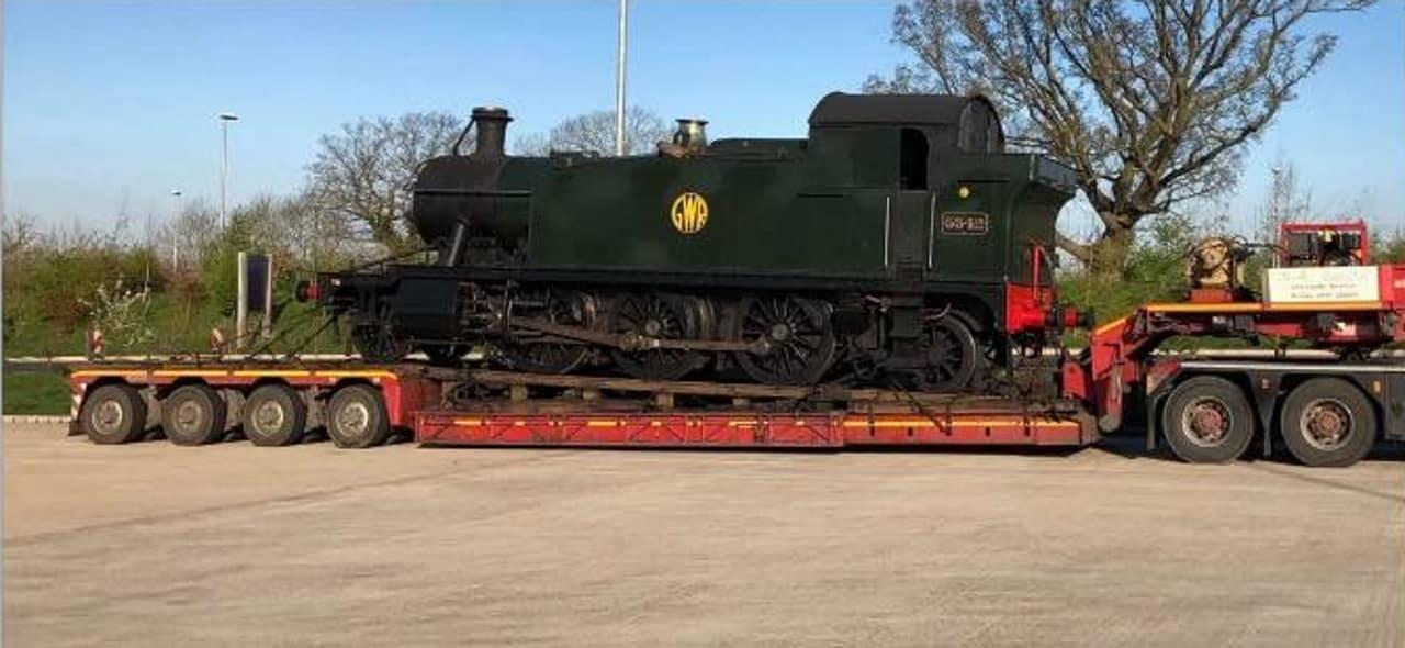 Steam locomotive trailer stolen in Somerset
