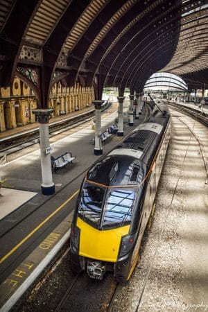 Grand Central Class 180 at York