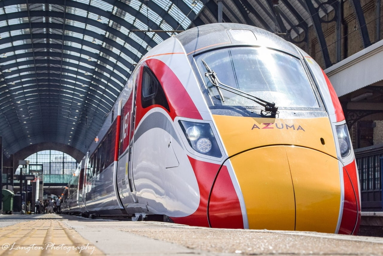 LNER Azuma at London King's Cross