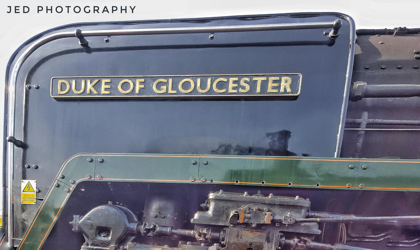 "Steam Locomotive 71000 ""Duke of Gloucester"" // Credit Jamie Duggan, JED Photography"