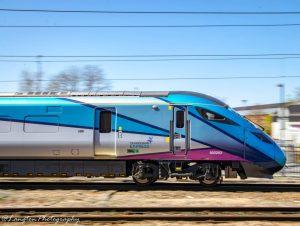 TransPennine Express Class 802 departs York