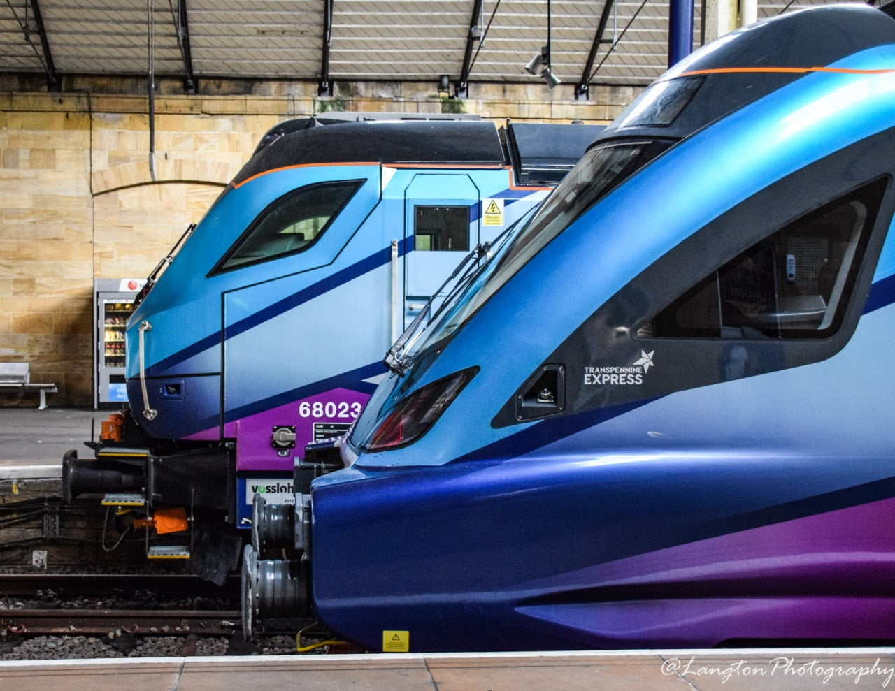 TransPennine Express Class 68 at Scarborogh
