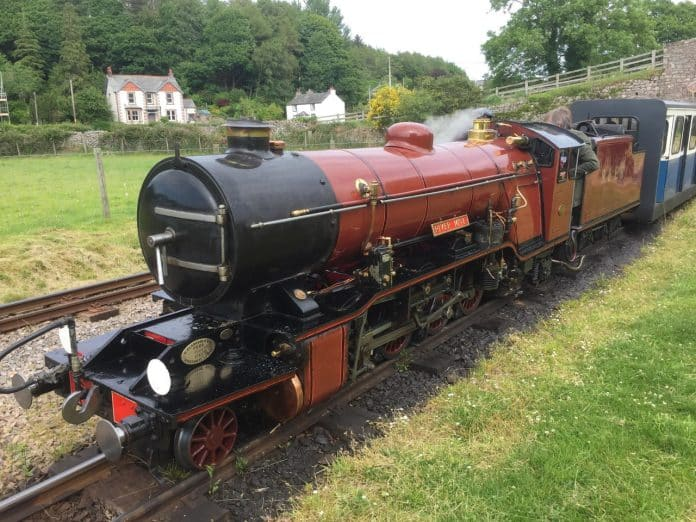 River Mite on the Ravenglass and Eskdale Railway