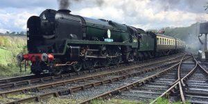 34053 Sir Keith Park at Highley
