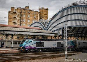 TransPennine Express Class 68 departs York