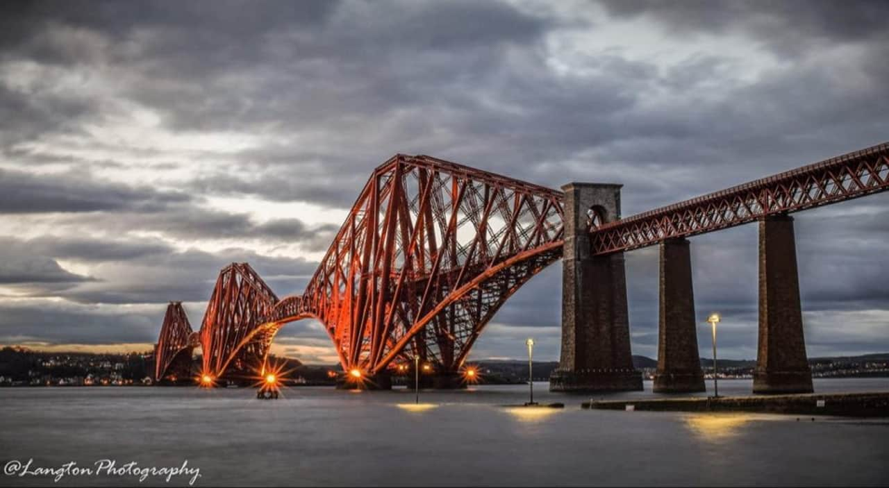 LNER release cab ride featuring forth bridge