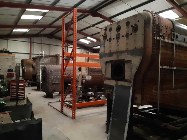 Boilers at HBSS // Credit HBSS