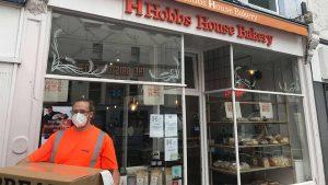 Bristol's signalling team delivering meals during the coronavirus crisis
