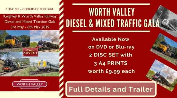 Keighley and Worth Valley Railway Mixed Traffic Gala