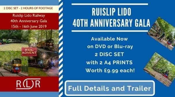 Ruislip Lido Railway DVD Photo Set