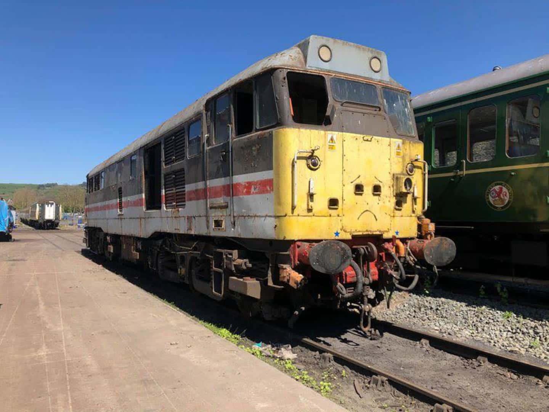 Class 31/4 No.31454 // Credit Wensleydale Railway