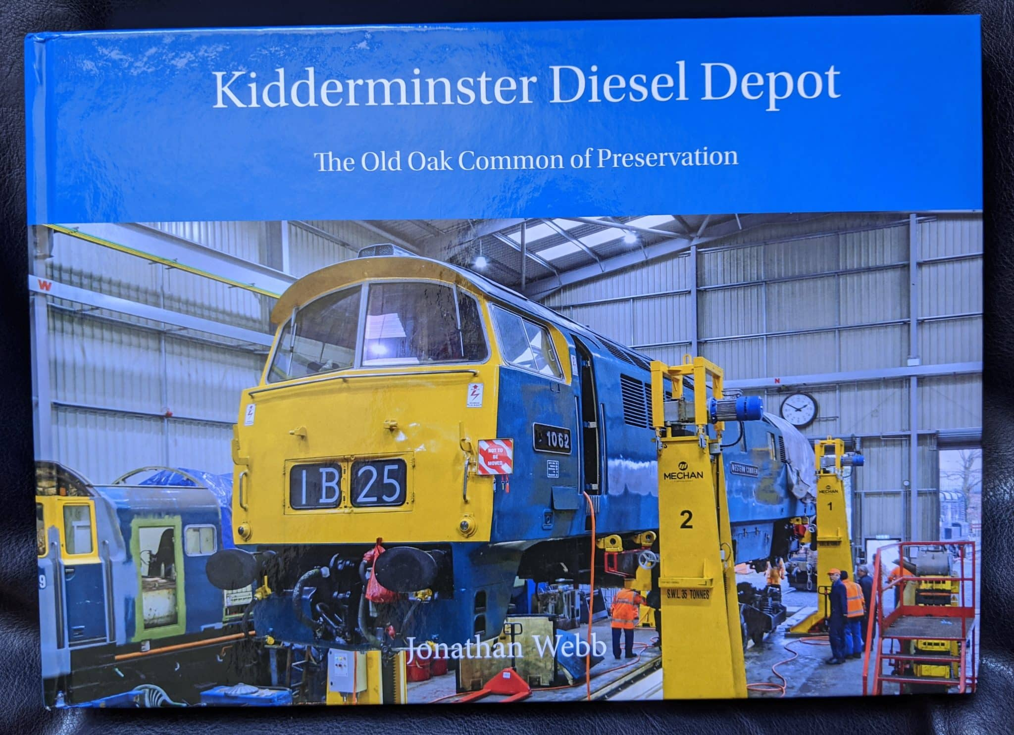 Kidderminster Diesel Depot - The Old Oak Common of Preservation book