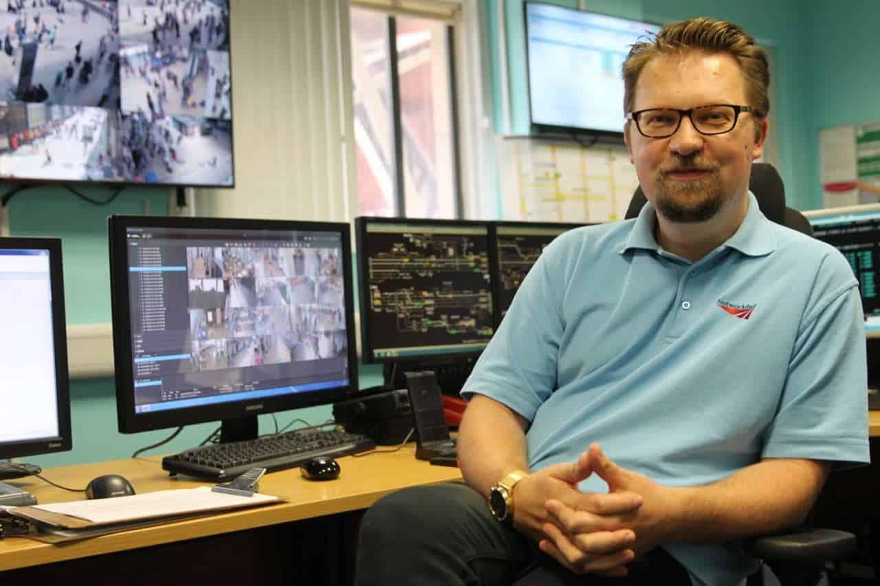 London Paddington control room tv series