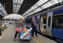 ScotRail supplies NHS with scrubs