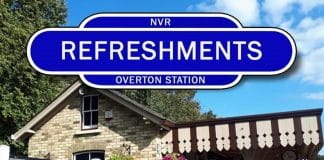 NVR Overton Station Refreshment Kiosk // Credit NVR