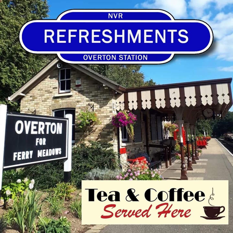 NVR Overton Station Refreshment Kiosk // Credit NVR