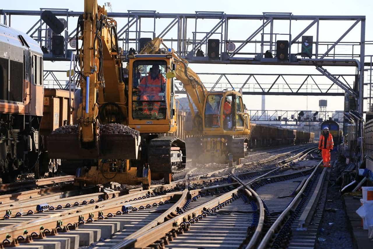 Network Rail work