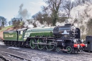 60163 Tornado at Bridgnorth on the Severn Valley Railway