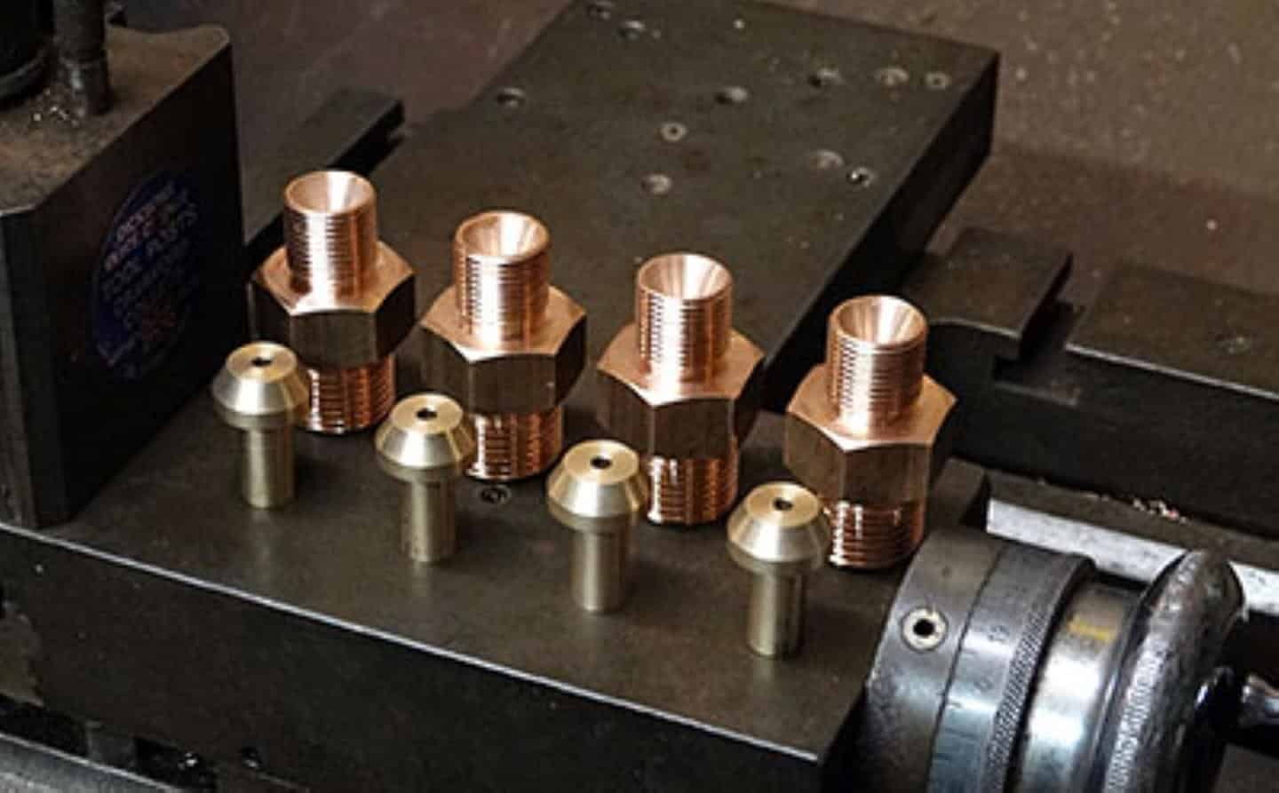 Pipe Cones Connectors for Lubrication Pipework // Credit Richard Fraser 82045 Steam Locomotive