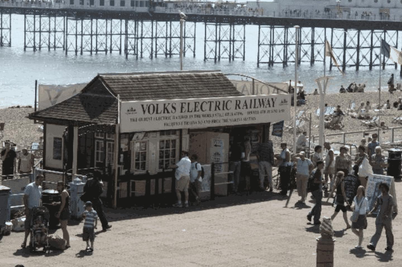 Volk's Electric Railway 25th anniversary // Credit Dereck Smith