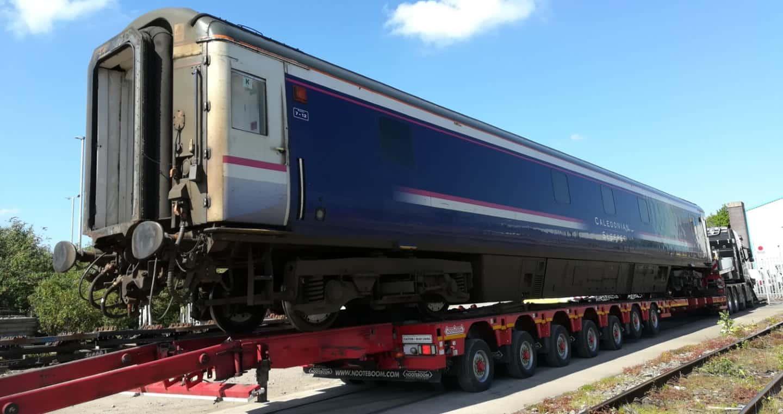 Didcot Railway Coach Sleeper Car // Credit DRC