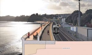 Dawlish sea wall proposed plans