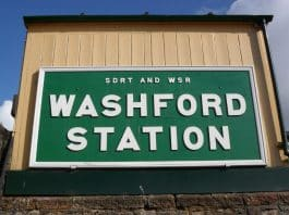 Washford Station Sign // Credit WSR